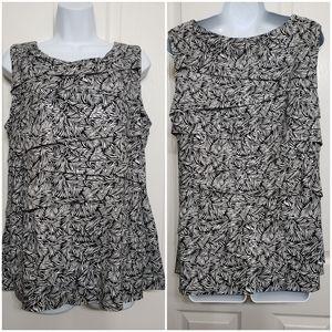 Dressbarn Collection sleeveless blouse